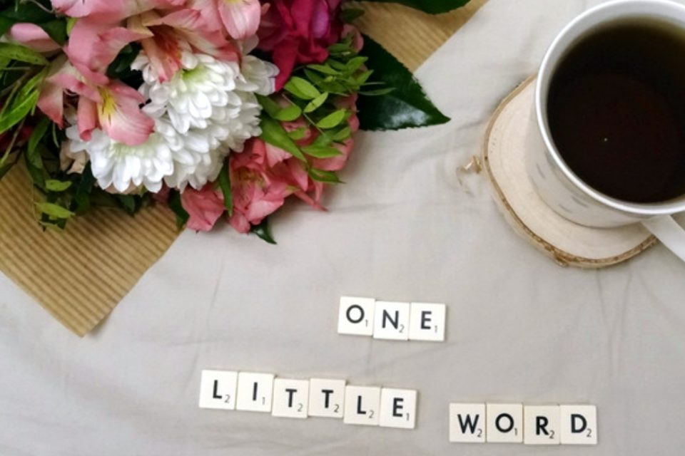 Jedno małe słowo